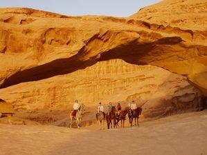 rando equestre en jordanie