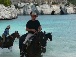 randonnee equestre a minorque