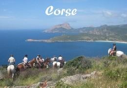 Voyage à cheval en Corse