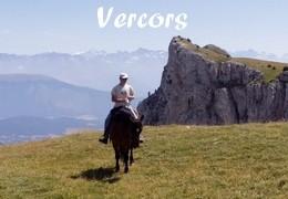 in France on horseback