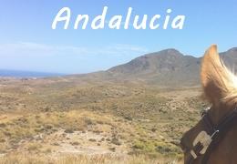 horseback riding in Andalucia