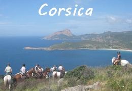 Corsica horse riding