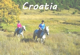 horseback riding vacation in Croatia