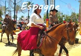 Randonnée à cheval en Espagne