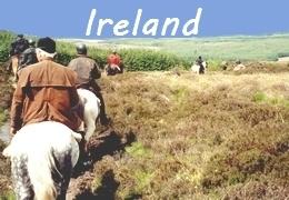 equestrian trip in Ireland