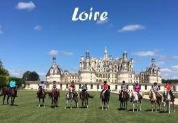 Randonnées à cheval - Loire