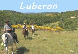 Randonnée à cheval Provence Luberon