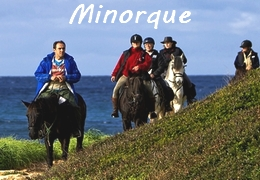 Voyages à cheval a Minorque