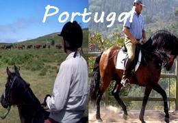 horseback riding in Portugal