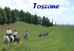 Randonnées à cheval en Toscane