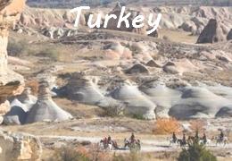 horseback riding in Turkey Cappadoce