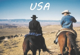horseback riding holiday USA