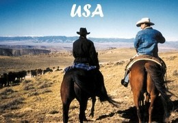 Randonnée à cheval en Amérique du nord - USA