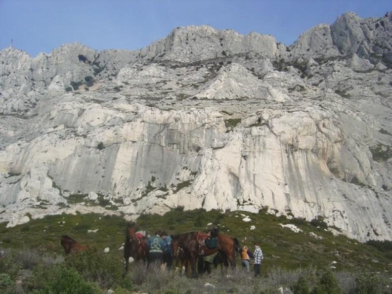 voyage cheval provence